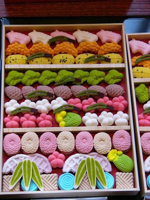 Higashi, dry Japanese sweets | Kyoto, Japan 干菓子