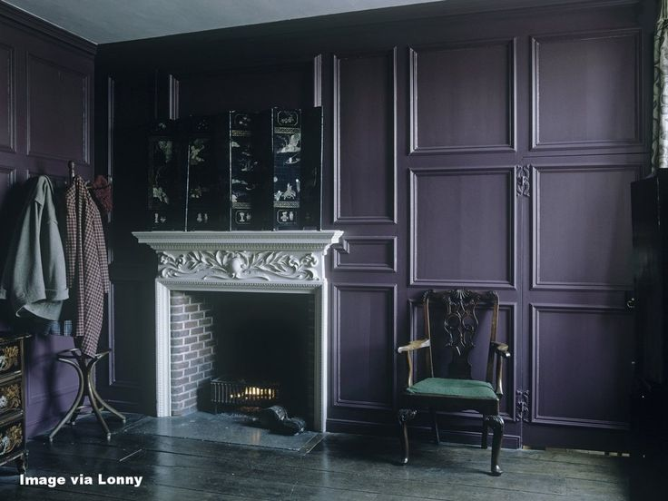 I let out a little yelp when Benjamin Moore, North America's favorite  paint, color and coatings brand, announced its highly anticipated 2017  Color of the Year a few weeks ago. Drumroll please.... it is Shadow  2117-30, a rich, royal amethyst, and the very shade I painted our original  master b