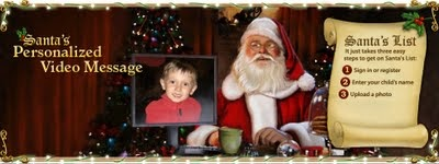Christmas Deal: Free Personalized Santa Videos, Calls and Letters