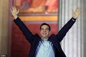 This is the Prime Minister, Alexis Tsipras. The Prime Minister holds more power than the president, but the president appoints the Prime Minister. The Prime Minister serves 5 years terms. Besides the President and the Prime Minister, government powers lays with the Cabinet and the Voulie. The Cabinet holds executive power. The Vouli makes laws. There's also a governor for each of the 13 regions, or nomois.