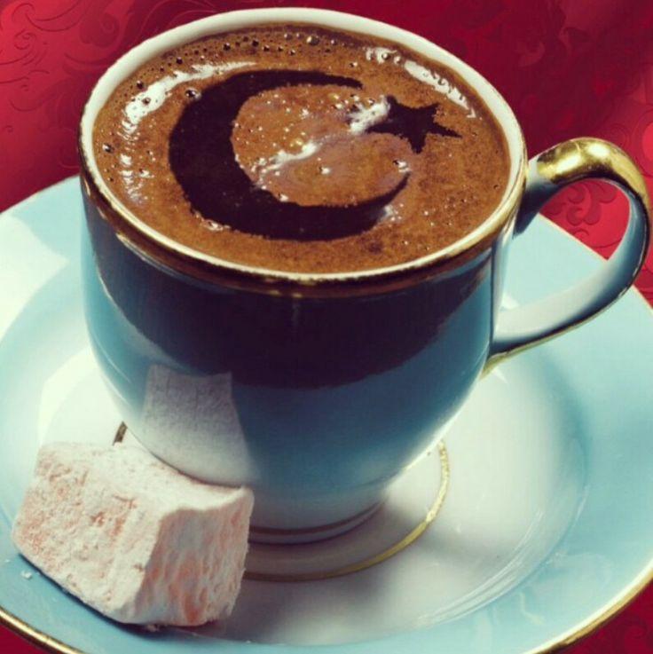 Turkish coffee art. #coffee #coffeerecipes #turkishcoffee