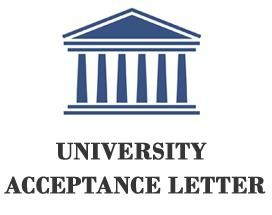 #Sample university #acceptance #letter is usually addressed by the registrar of the #university or the head of the admission board to the selected student to inform them about his/her successful application.