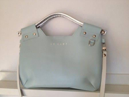 BUBBLE BLUE handbag,