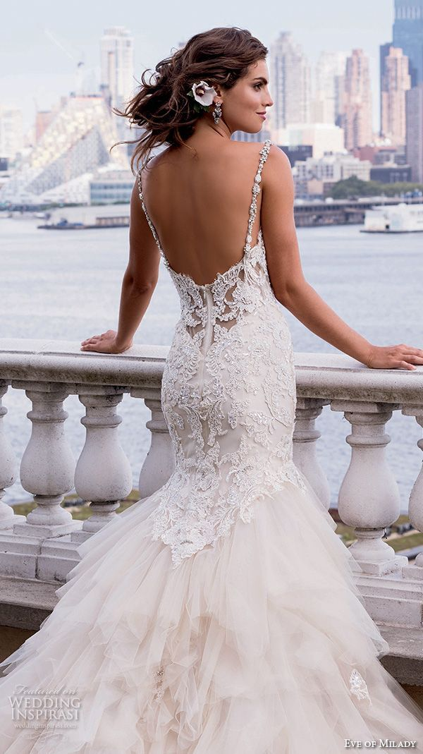 17 best ideas about mermaid wedding dresses on pinterest for Beaded lace mermaid wedding dress