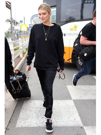 【ELLE】リリー・ドナルドソン Lily Donaldson|私服も注目! 2016カンヌ国際映画祭エアポートルック|エル・オンライン
