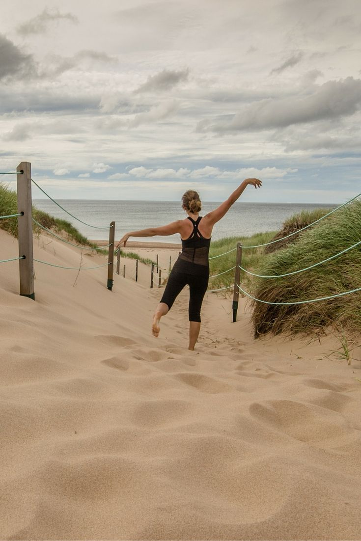The Greenwich Dunes in Prince Edward Island National Park, Canada- one of the best beaches in PEI!