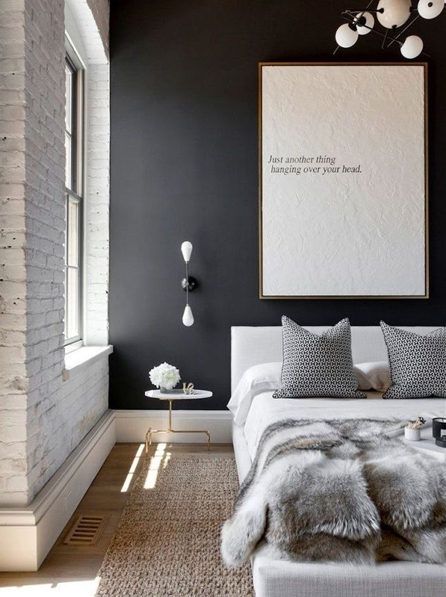 13 Creative Ideas for Decorating With an Exposed Brick Wall via Brit + Co