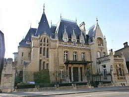 Hôtel particulier Bouctôt Vagniez à Amiens construit en 1911