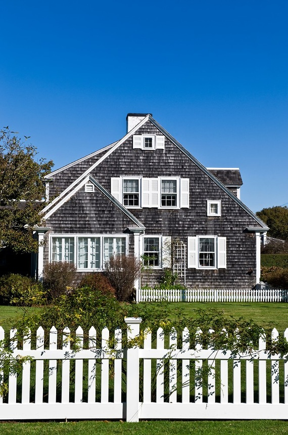 Traditional Cape Cod style house, Dennisport, Cape Cod, MA