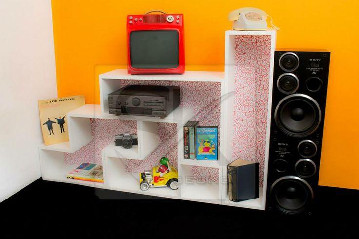 Muebles Tetris! Nueva linea con fondo estampado!