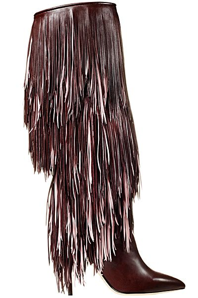 Bohème ◐ Gypsy ◑ Spirit  ~✌ⓛⓐⓓⓨⓛⓤⓧⓤⓡⓨ✌~  Brian Atwood Brown Fringe Boots Fall Winter 2014 #Shoes #Heels