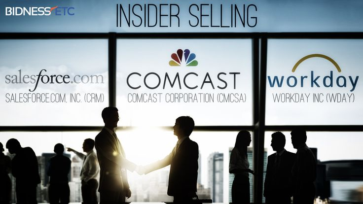 Insider Selling: Salesforce.Com, Inc. (CRM), Comcast Corporation (CMCSA) & Workday Inc (WDAY)