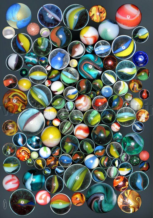 Bright Colored Marbles : Images about marvelous marbles on pinterest