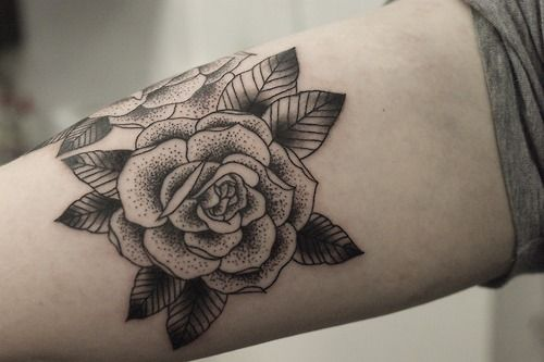 Small Rose Tattoos Tumblr Cover Up Idea For My Stupid Neck