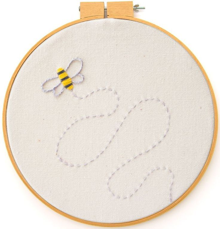 Bee Embroidery Pattern - Bee's Knees Industries Blog   Art, Crafts, Tutorials, Printables and More for Kids and Adults Alike