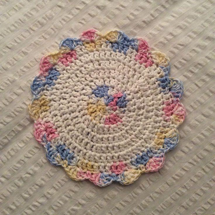 Pastel dishcloth