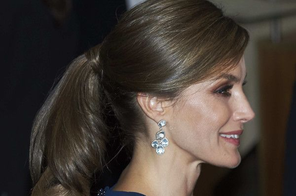 Queen Letizia of Spain attends the 'XXVI Musical Week' closing concert at the Principe Felipe Auditorium during the 'Princess of Asturias 2017 Awards on October 19, 2017 in Oviedo, Spain.