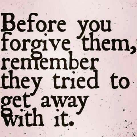 Before You Forgive Them