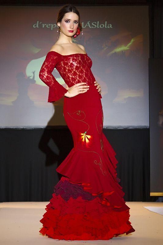 Traje flamenca drepente Lola