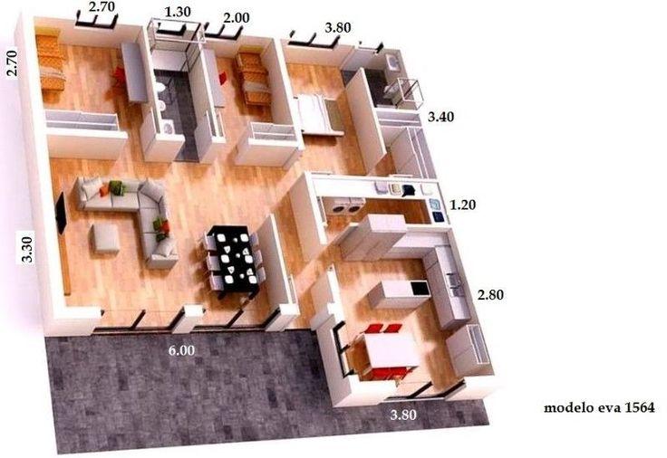 VIVIENDAS ROYAL HOUSE PREFABRICADA - INDUSTRIALIZDA- PREMOLDEADAS - CABAÑAS- ENTREGA EN TODO EL PAIS en Liniers imagen 2