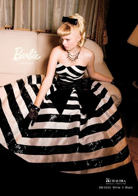 barbie bridal... love! If only I knew about this 7 months ago! :)