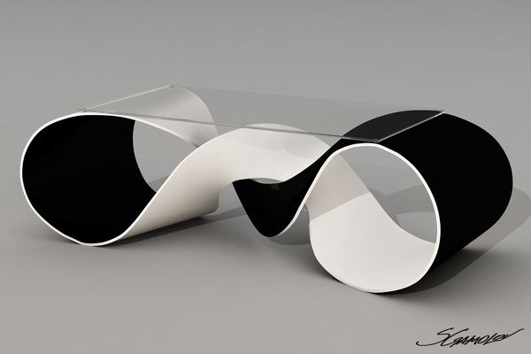 Discovery - coffee table concept by Svilen Gamolov  ((great for hot wheels ;0) ))