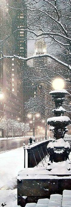 NYC Manhattan in winter