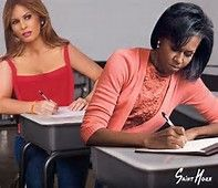 Image result for meme of michelle obama and melania trump