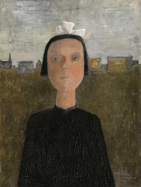 Jean Paul Lemeiux 'The Orphan' 1956