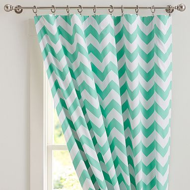 Chevron Blackout Drape. Love The Color, The Pattern And The Fact That It Is