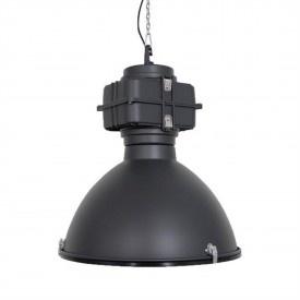 INDUSTRIELE LAMP MAT ZWART