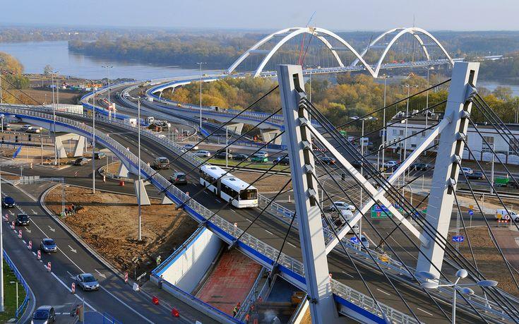 [Toruń] Most drogowy im. gen. Elżbiety Zawackiej - SkyscraperCity