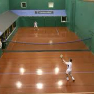 Real tennis at the Oratory School Woodcote UK