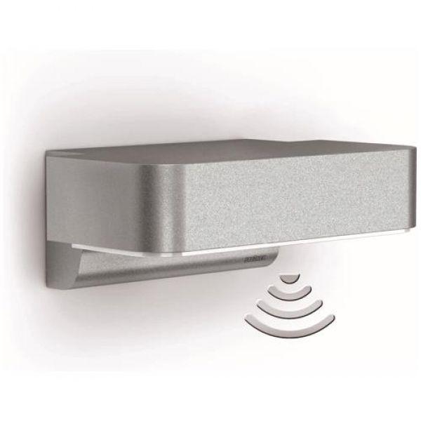 STEINEL LED Design Sensor Außenleuchte L800 LED iHF silber | STEINEL | 671419 - click-licht.de