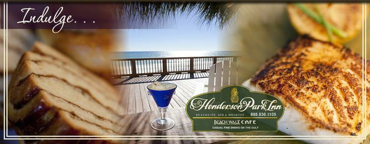 How about a charming oceanfront terrace overlooking the white-sand beaches of the Emerald Coast or sipping a glass of wine watching the sunset? That's the kind of bliss you'll experience with a stay at Henderson Park Inn oceanfront hotel on the beach in Destin, Florida.