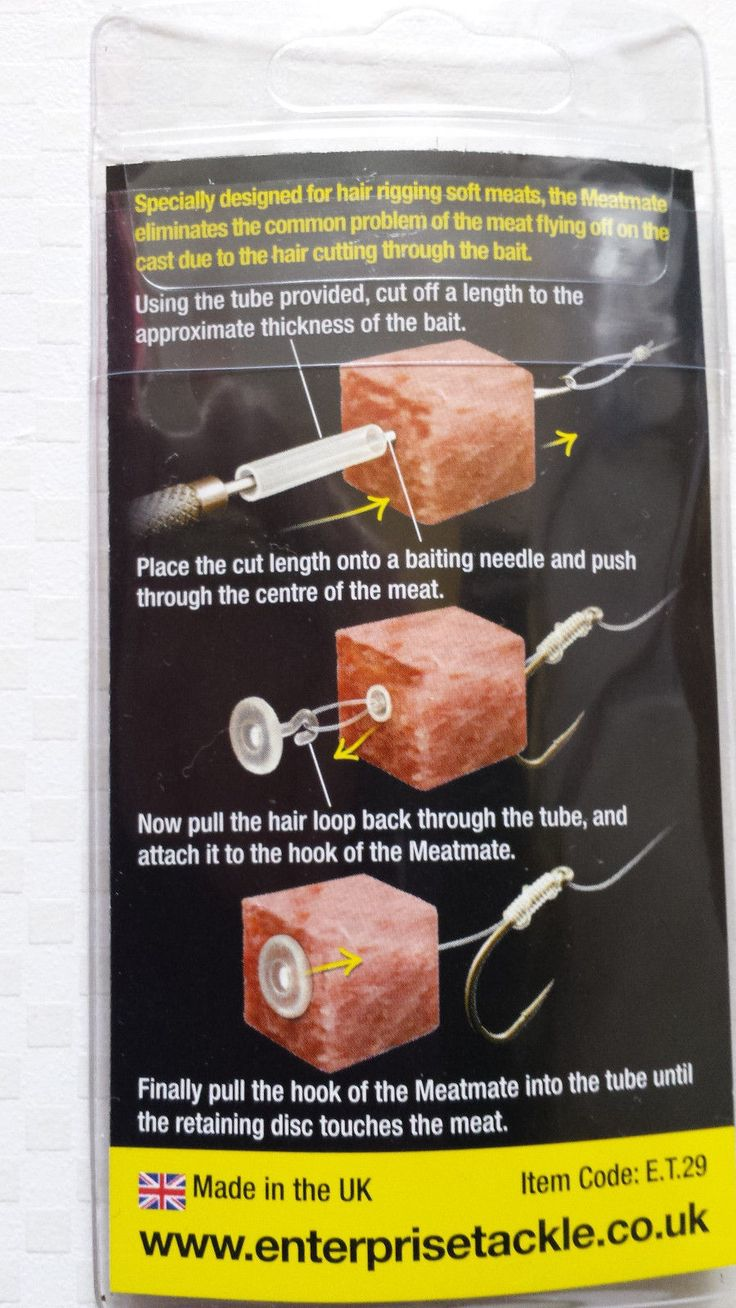Enterprise Tackle Meat Mate Carp Coarse Fishing 8 stops per pack | Other Terminal Tackle | Terminal Tackle - Zeppy.io