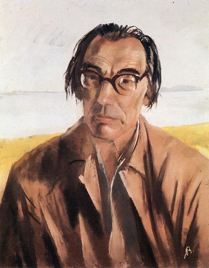 Bernáth, Aurél (1895-1982) - Portrait of Lorinc Szabo, 1955