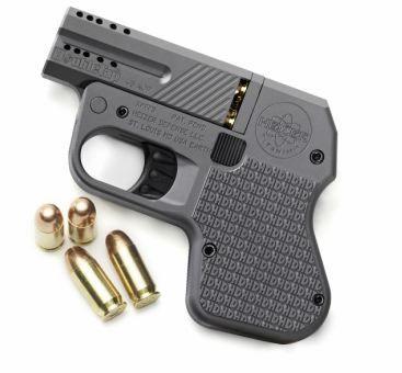 Heizer Firearms DoubleTap .45ACP.  The world's smallest .45 pistol.  MSRP $499.