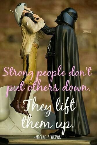 Misunderstood Inspirational Quote XD ...Star Wars Darth Vader