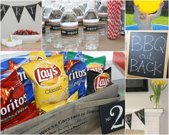 Ideas For Backyard Bbq Party : Backyard BBQ birthday party  50th Birthday BeerBQ  Pinterest
