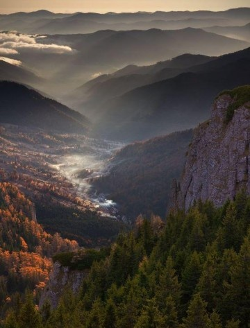 Ceahlau Mountains, Romania