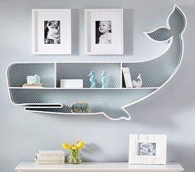 A little too expensive for me but still super cute! Whale Shelf #pbkids