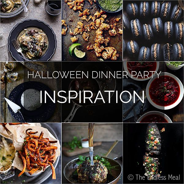 halloween dinner party menu ideas