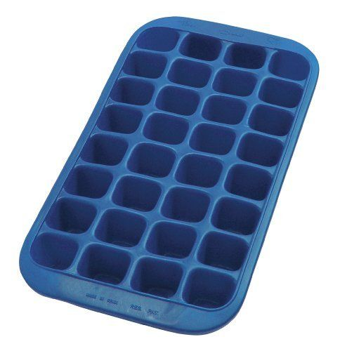 Lekue Gourmet Industrial Ice Cube Tray, Blue by Lekue. $13.00. Lekue offers a wide range of rubber ice-cube trays because this material offers many possibilities as far as color and shape are concerned and guarantees perfect results in the refrigerator and freezer.. Ice molds to make ice cubes with shapes such as: heart ice cubes, sea shell ice cubes, penguin ice cubes, star ice cubes, round ice cubes, scottish terrier ice cubes and perfect ice for cocktails; a...