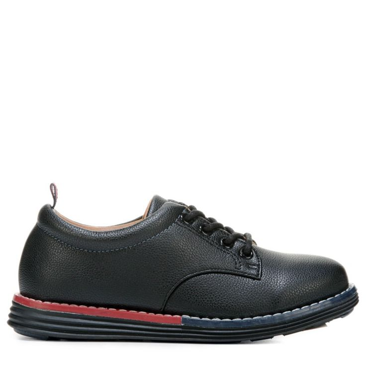 Tommy Hilfiger Kids' John Lace Oxford Pre/Grade School Shoes (Black)