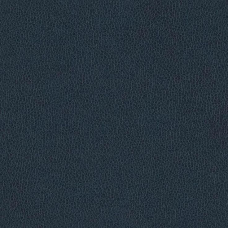 Omega Blueberry Soft Blue Faux Leather Upholstery Fabric