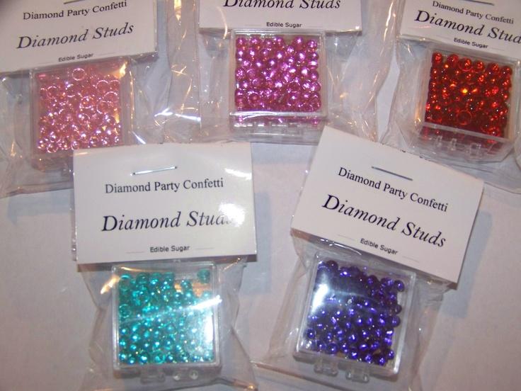 EDIBLE DIAMOND STUDS
