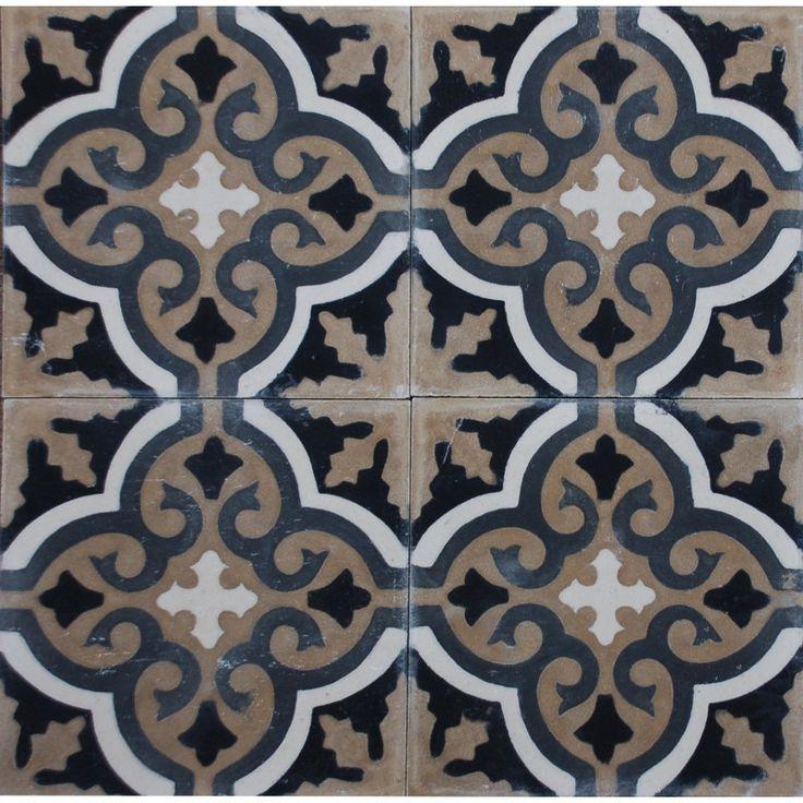 Voltaire marockanskt kakel Marrakech design