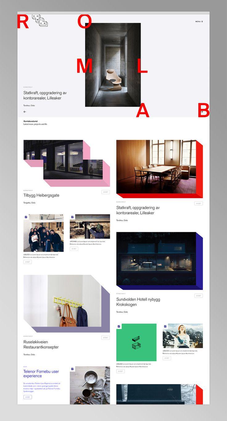 Romlab Branding | Abduzeedo Design Inspiration