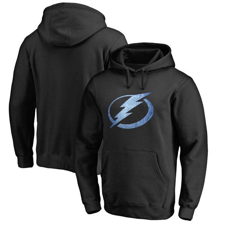 Tampa Bay Lightning Tampa Bay Lightning Big & Tall Pond Hockey Pullover Hoodie - Black